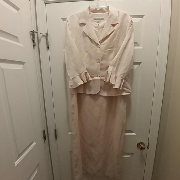 61edfac5 Jessica Howard Dresses | Pale Pink Sheath Dress And Jacket 12 | Poshmark